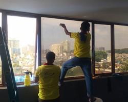 Dán phim cách nhiệt cho cửa kính giá rẻ tại Hà Nội