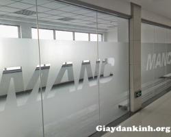 Dán kính văn phòng chuyên nghiệp tại Hà Nội