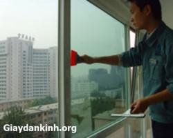 Giấy dán kính nhìn 1 chiều chống nắng cách nhiệt cho cửa kính