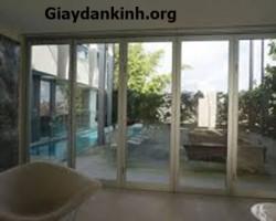 Phim phản quang dán kính chống nắng siêu tốt cho nhà kính