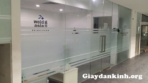 Các mẫu dán kính mờ văn phòng Hà Nội