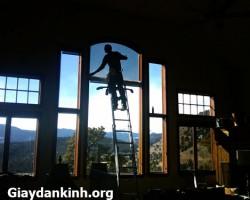 Dán phim cách nhiệt cho cửa sổ gia đình văn phòng